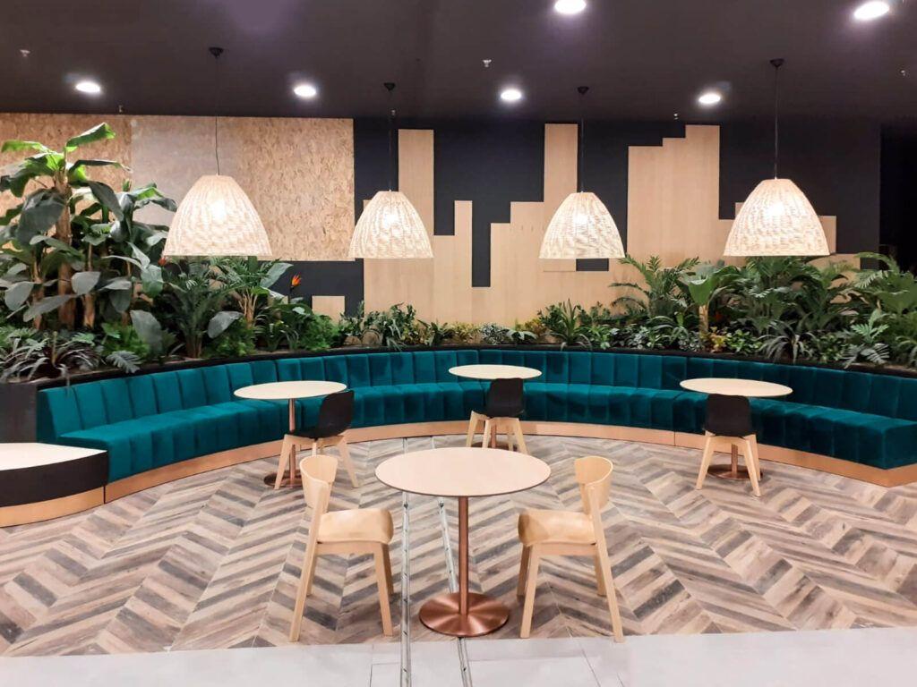mobilier spatii publice mall stara zagora 11 1 - - Sensio Concept