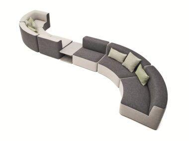 Canapea modulara terasa CHI 34 - - Sensio Concept